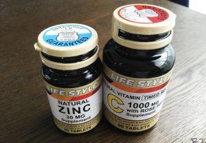 ビタミンCと亜鉛